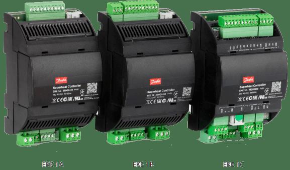 Superheat controller type EKE 1A, EKE 1B, EKE 1C Ranges