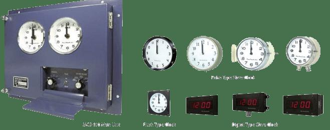 Marine Master Clock System