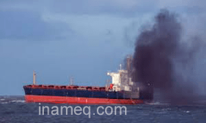 Sulphur Oxides air pollution from ship