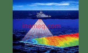 Survei bathymetri di laut