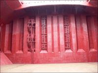 Corrugated bulkhead