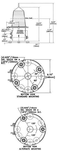 Incandescent Marine Lantern Drawing