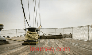 wire rope for ship