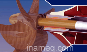 Seawater Lubricated Propeller Shaft Bearing System For Ship