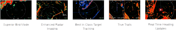 High Performance, Long Range Open Array Radar
