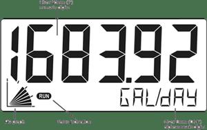 Fluidwell Flow Meters Type F490 Series Numeric Digits