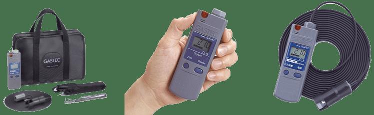 Hand-held for oxygen detector