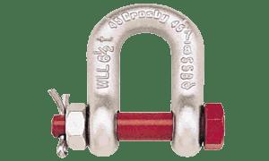 CROSBY G2150 BOLT TYPE ANCHOR SHACKLES