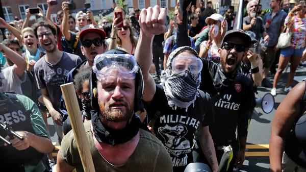 Nazi Antifa thugs
