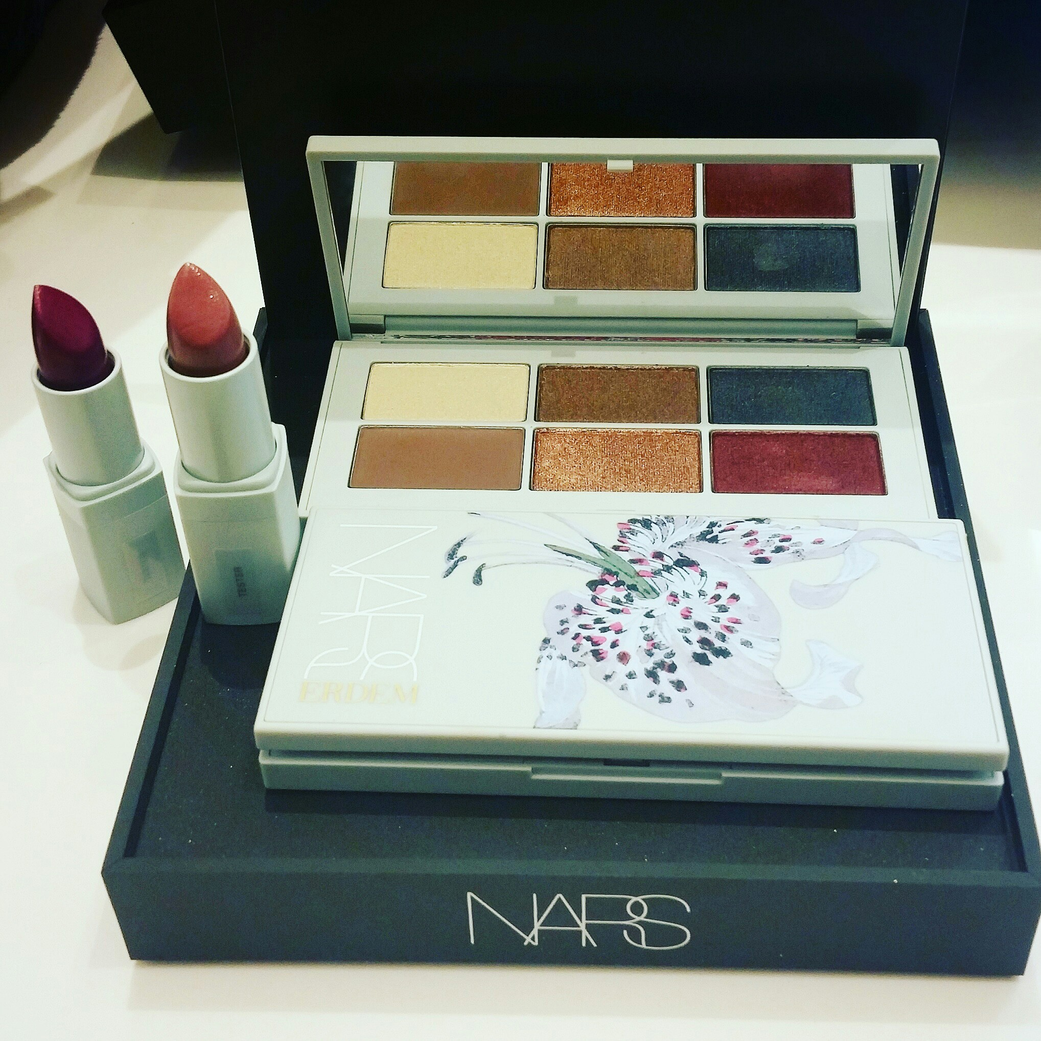 NARS, Erdem, Strange Flowers Collection, inandoutof vegas, In and Out of Vegas
