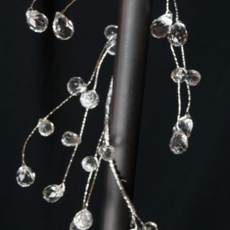 Crystal Wire Garland Branch