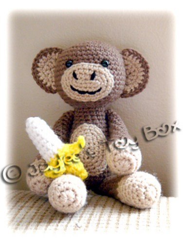 http://www.ravelry.com/patterns/library/amigurumi-monkey-with-banana