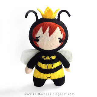 http://www.ravelry.com/patterns/library/onesie-babee-in-bee-costume