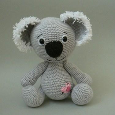 http://www.ravelry.com/patterns/library/koala-bear-crochet-pattern