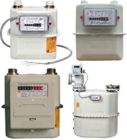 Penggunaan Gas Meter