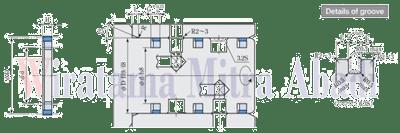 STK Seal (STR) for Rotating Joint Sakagami Drawing