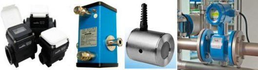 Header Electromagnetic flow meter