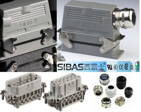 Heavy Duty Electrical Connector Sibas