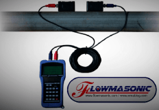 Flowmasonic flow meter