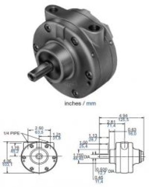 Gast Air Motor 2AM