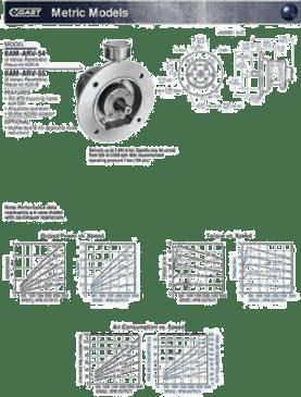 Gast Air Motor 6AM Metric Model