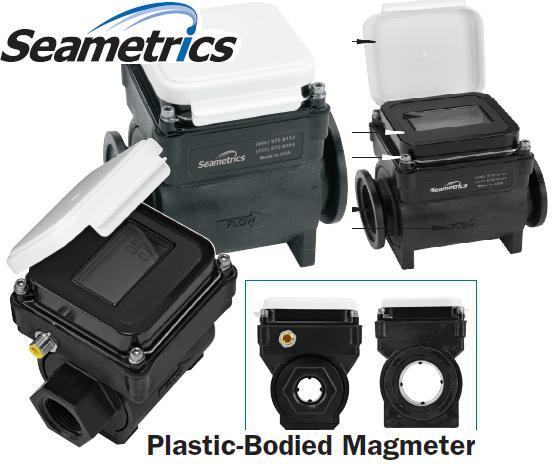 plastic electromagnetic flow meter