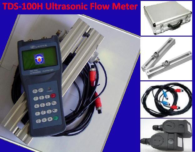 Portable Ultrasonic Flow Meter TDS-100H