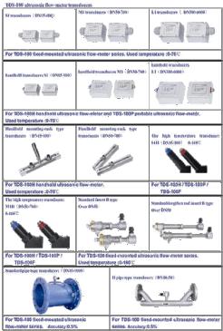 TDS100P Portable Ultrasonic Flow Meter