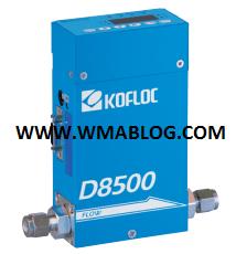 kofloc gas thermal mass flow meter
