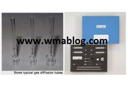 Gastec Generating calibration gas with a diffusion tube