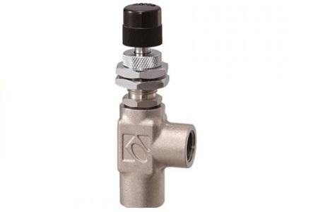 Kofloc Model 2412 Series Precision Needle Valve w/Non-rotary Needle