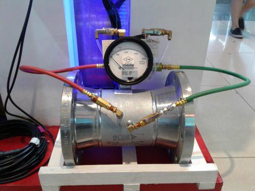 Flow Meter Pompa Hydrant Gerand untuk Sistem Pemadam Kebakaran
