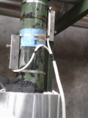 Transducer ultrasonic flow meter