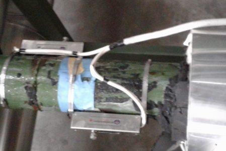 Flow meter air dingin chiller