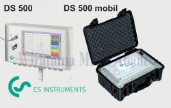 DS 500 Mobile Chart Recorder for dew point and flow meter CS Instrument
