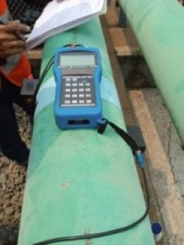 CLAMP ON TDS 100F Flow Meter