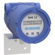 Rheonik RHE12 Coriolis Mass Flow Transmitter Enhanced Rail Mount