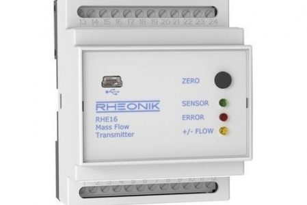 Rheonik RHE16 Coriolis mass flow transmitter Compact Multifunction