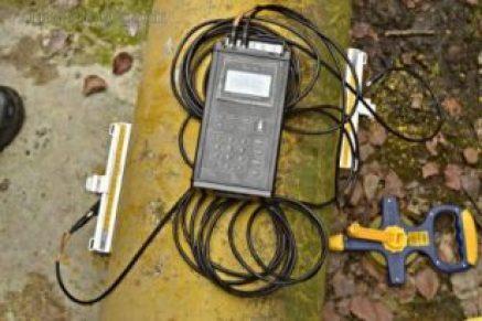 Portable Ultrasonic Flow Meter SL1168