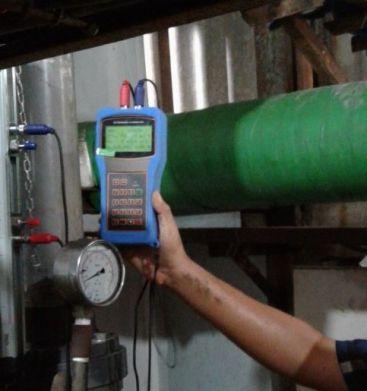 Portable flow meter flowmasonic WUF 100