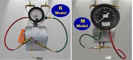 Gerand pump test flow meter