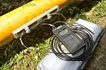 Portable Ultrasonic Flow Meter for Liquid