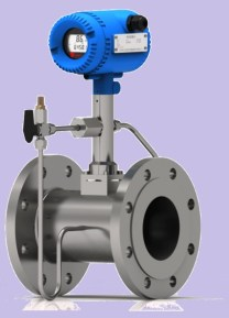 Vortex steam Temperature compensation flow meter