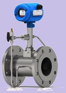 Vortex steam Temperature compensation flow meter