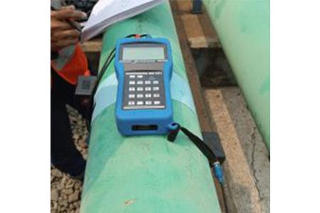 Cara mengukur debit air dengan flow meter clamp-on