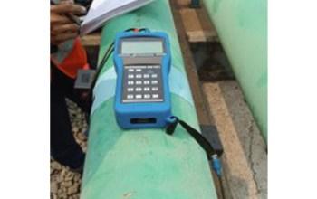 WUF 100 J portable ultraonic flowmeter