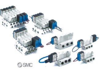 SMC Pneumatic solenoid Valve 5 port