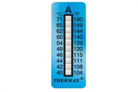 THERMAX Temperature Strips 10 Level Range A