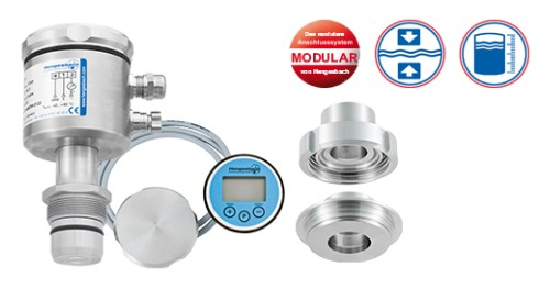Flush-Mounted Pressure and Level Transmitter PZT 100_101