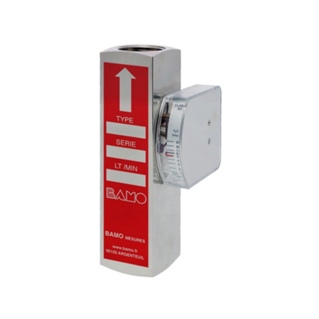 Bamo Flow Controller with Indicator, Metallic DUM/A